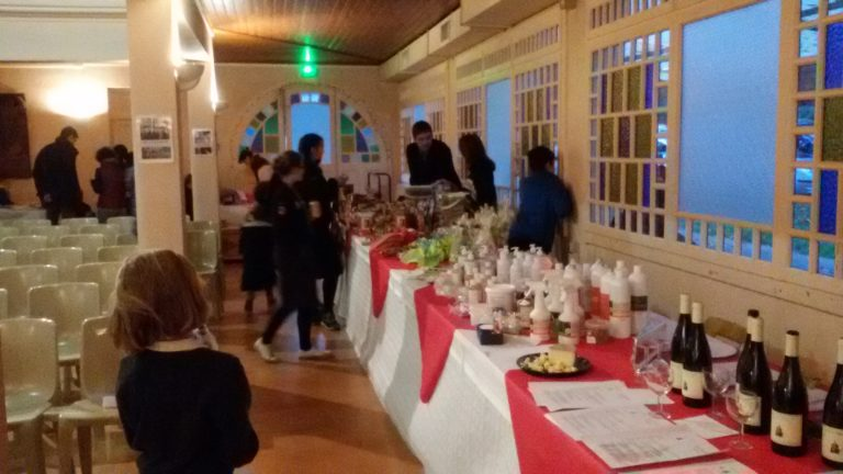 Marché de Noël à la Bénite Fontaine