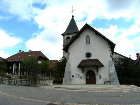Messe à l'église St-Maurice, Pringy