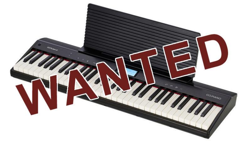 Un piano pour l'école