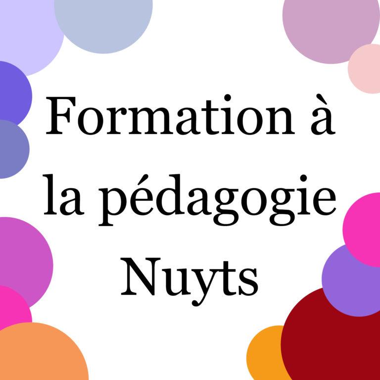 Formation à la pédagogie Nuyts