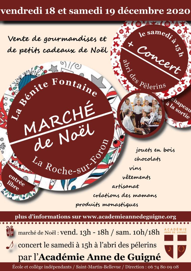 Marché de Noël 2020 : 18 et 19 décembre à la Bénite !